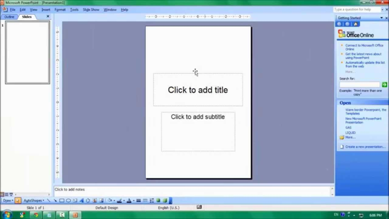 how to set up power point for 3 screens