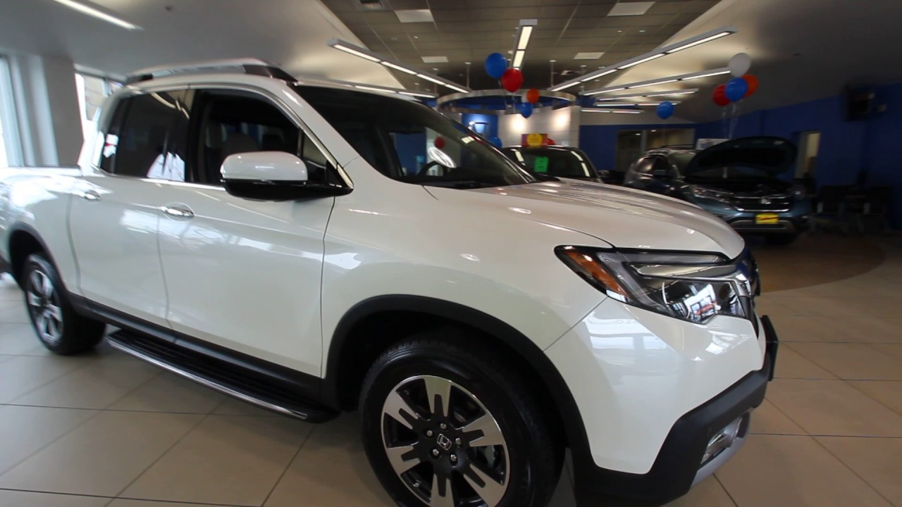 2017 Honda Ridgeline RTL | White Diamond | HB002882 | Seattle | Renton ...