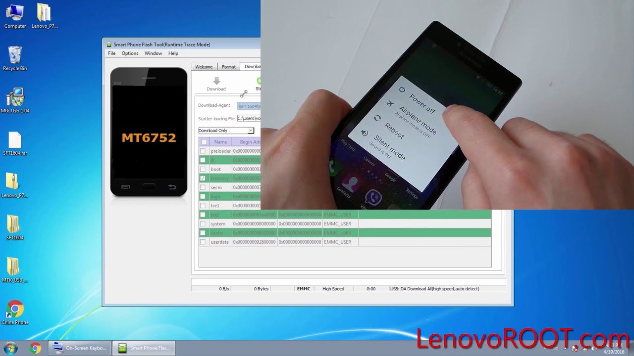 TWRP Recovery for Lenovo P70 - LenovoROOT com - Root Flash
