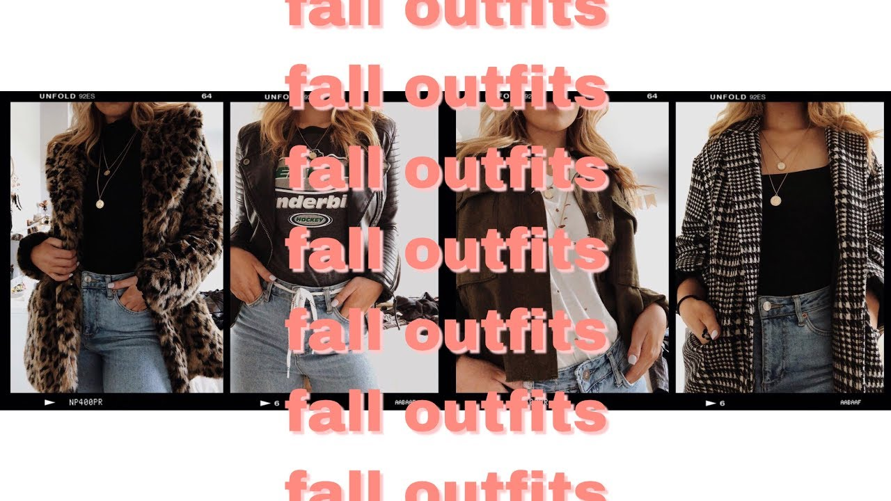 [VIDEO] - FALL OUTFIT IDEAS ★ SARAH DENISON 2