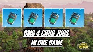Is This A Unlimited Chug Jug Glitch (Fortnite Battle Royal)
