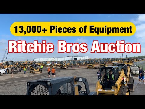 Orlando Florida Ritchie Brothers Auction Day 1 2020 (walk Around With Travis And Marshall)