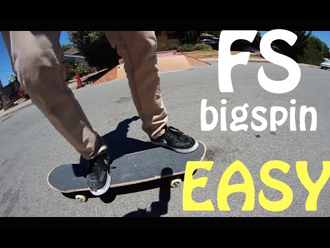 Frontside bigspin trick tip with Garrett Ginner | Garrett Ginner