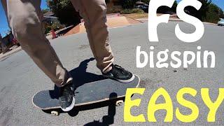 Frontside bigspin trick tip with Garrett Ginner   Garrett Ginner