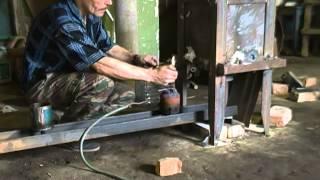 видео Литье бронзы в стальную форму в домашних условиях