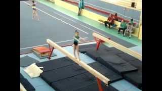 Спортивная гимнастика. Козлова Ангелина. 2 разр.