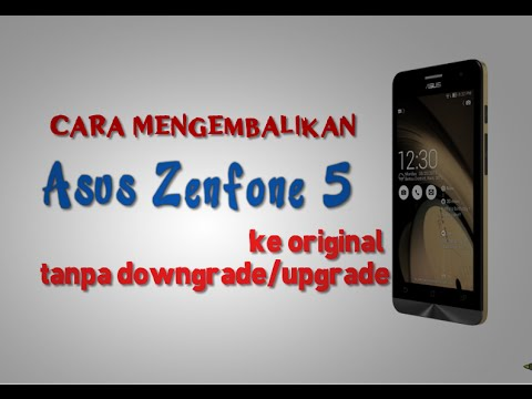 ASUS Zenfone 5 (A500CG/T00F) Alternative Recovery Button ...