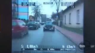 Pościg mini-morris'a w Dąbrowie Górniczej (15.04.10)