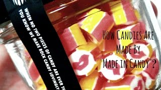 Candy-Making at Made in Candy: How to Make Personalized Candy