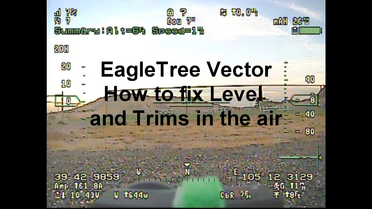 Eagle Tree Vector In Air Leveling And Incorporate Trims Wiring Diagram