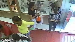 Mulheres são procuradas por furto de óculos na Ótica Diniz, em Goiana