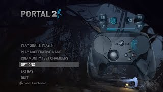 [Game Stream (SC)] Testing out the Steam Controller with Portal 2