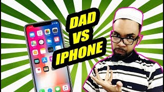 Bengali Dad Reacting On iPhone X | Dad Has The Best Review LOL !!!