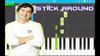 "Lukas Graham - Stick Around Piano Tutorial EASY (""3 The Purple Album"") Piano Cover"