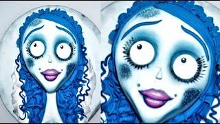 Cake decorating tutorials | how to make a halloween corpse bride cake | Sugarella Sweets