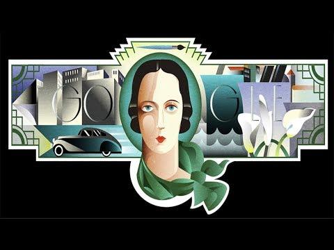 Tamara de Lempicka   Google Doodle