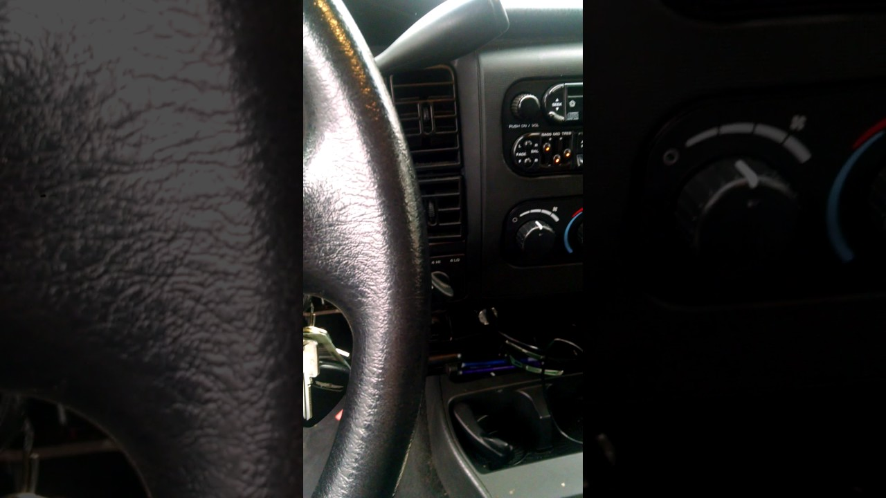 2001 Dodge Dakota 4x4/4wd not working, no indicator lights