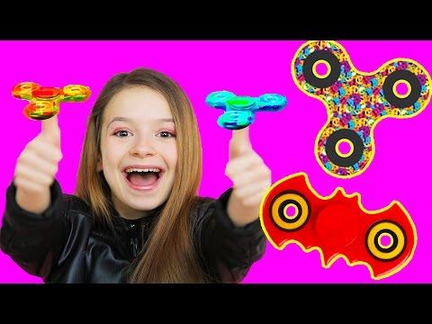 HAND SPINNERS TRICKS !!! FIGURE avec les hand spinners!! Hand spinners offert par un abonné