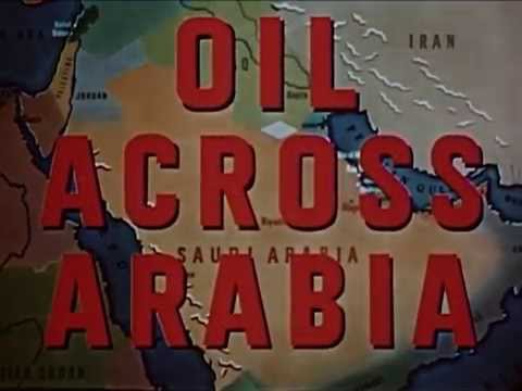 Oil Discovery In Middle East 1940s !