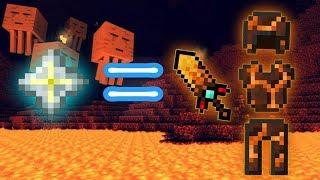 CHẾ TẠO BỘ GIÁP TỐI THƯỢNG CHỈ VỚI MỘT CÔNG THỨC TRONG MCPE | Minecraft PE 1.1.3