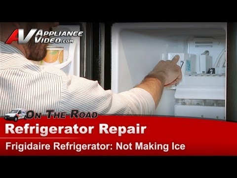 Refrigerator Repair & Diagnostic Not making ice
