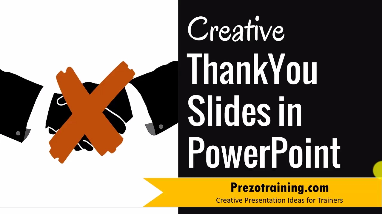 Creative Thank You Slide Ideas In Powerpoint Youtube