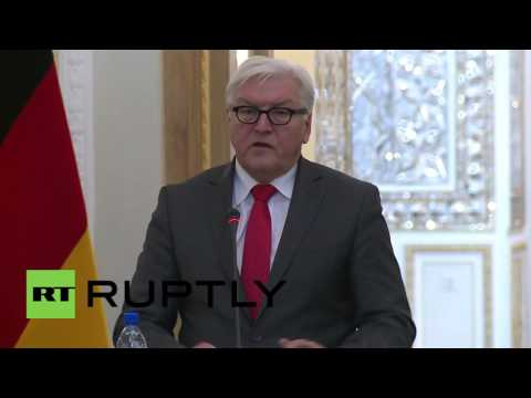 Iran: FM Zarif slams Saudi Arabia during joint presser with Germany's Steinmeier