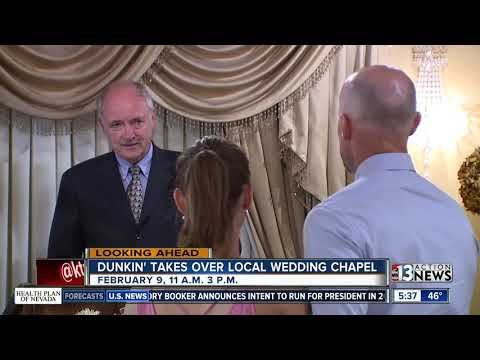 Letty B - You Can Get Married At A Dunkin Donuts Wedding Chappel This Month