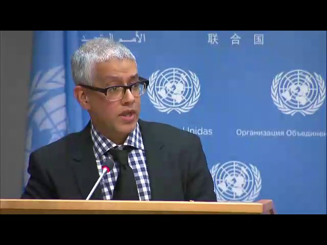 UN condemns yesterday's terrorist attack in #London & Other Topics (Daily Briefing 3/23/2017)