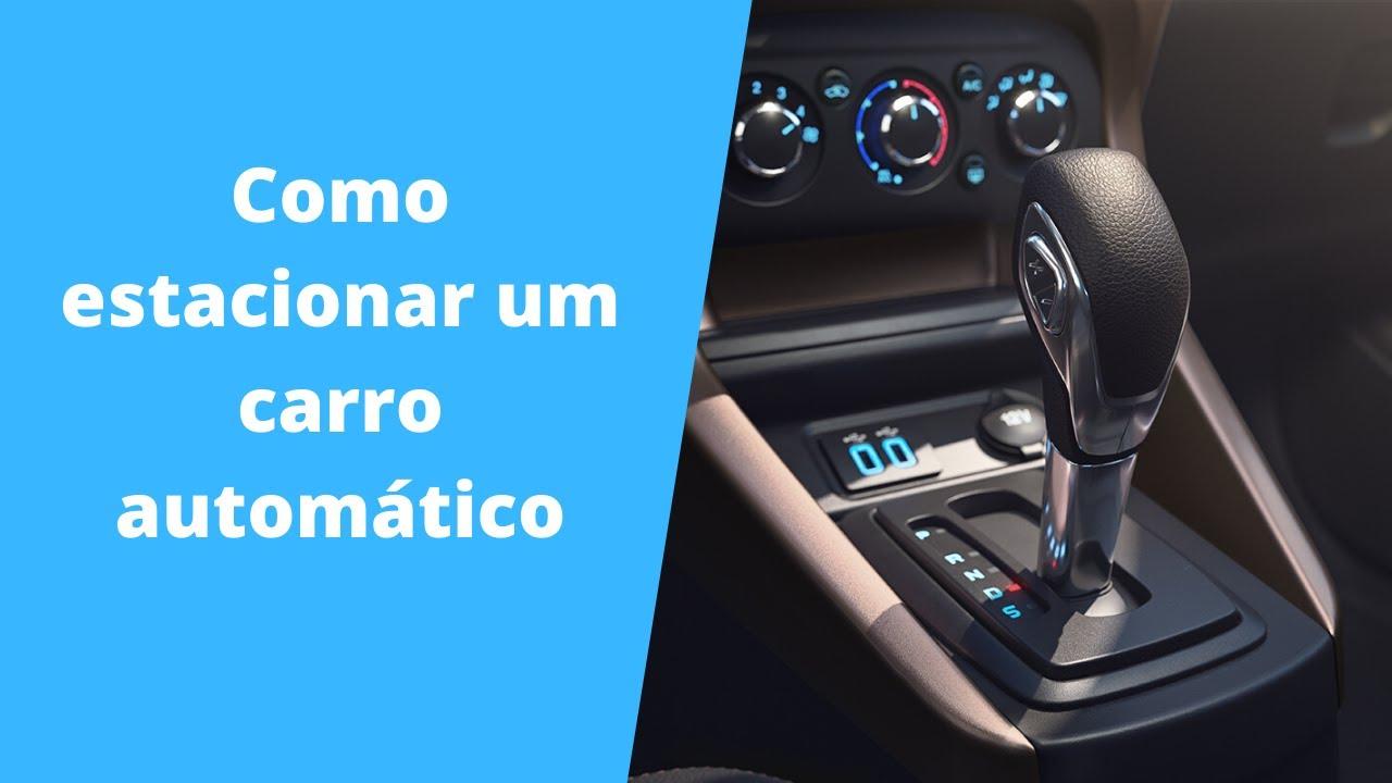 Como estacionar um carro automático