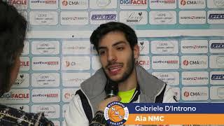 Intervista a Gabriele D'Introno, ala NMC