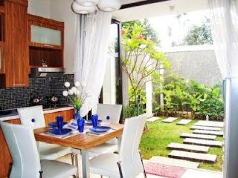 Design Dapur Menyatu Dengan Taman  konsep penting 55 dapur minimalis dengan taman