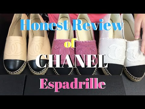 Honest & Best Review of CHANEL Espadrille Shoes