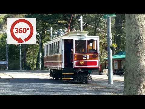 360 Degree Manx Electric Tram Journey - Douglas to Laxey, Isle of Man