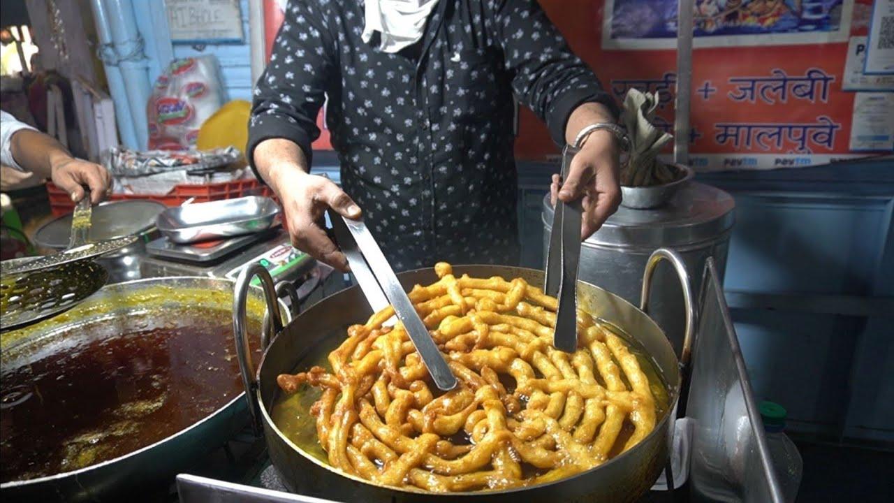 WORLD BIGGEST JALEBI EVER | NO 1 BEST JALEBI | Indian Street Food