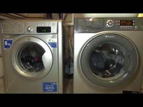 Wash Race No.9 : Indesit Energy saver vs. Hotpoint Eco wash
