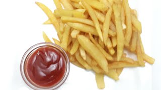 ফ্রেঞ্চ ফ্রাই তৈরির সহজ রেসিপি//French fry recipe