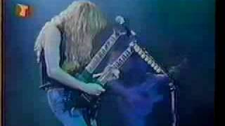 Dave Mustaine Jr. Jeff Young Chuck B 1988 Essen, Germany Set List 1...