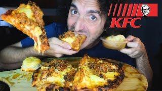 Download Video NEW KFC Kentucky Fried Chicken PIZZA * MUKBANG MP3 3GP MP4
