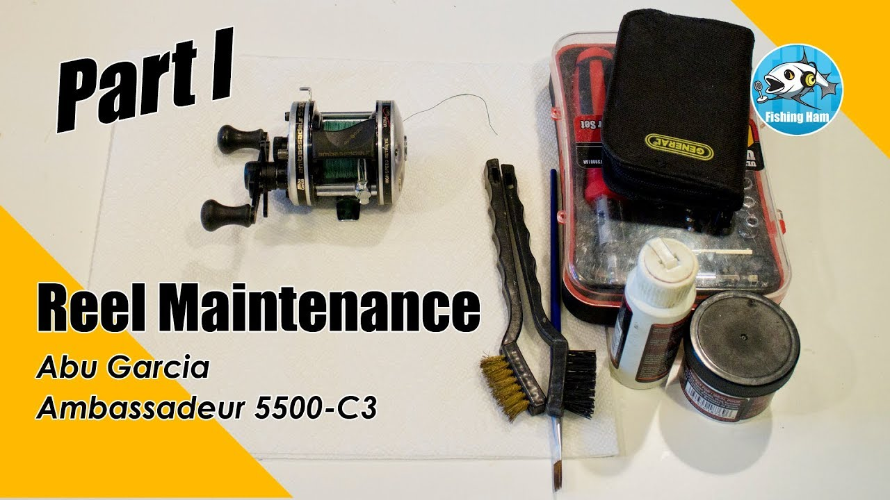 How To Clean Your Abu Garcia Ambadeur 5500c3 - PT I - Disemble + tips Abu Garcia C Schematic on