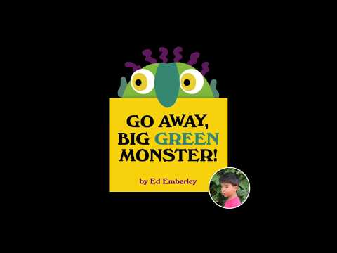 graphic about Go Away Big Green Monster Printable Book identify Transfer absent, substantial eco-friendly monster (consider e-book browse aloud) - YouTube