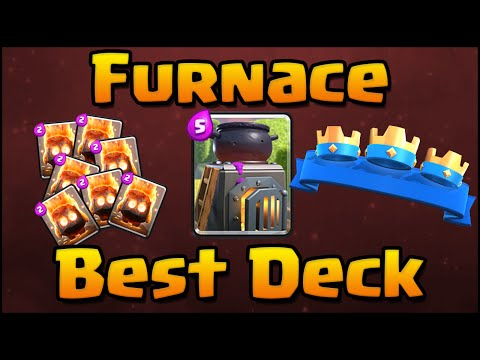 Clash Royale - How To Use Furnace | Best Furnace Deck & Attack Strategy for Arena 6, 7, 8