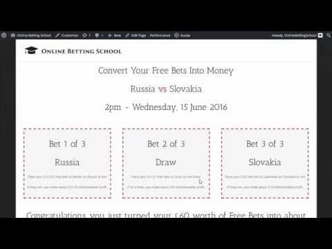 Russia vs Slovakia Euro 2016 turning Free Bets into Money