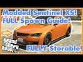 GTA 5 Online Sentinel XS Spawn Location! Working *SOLO* Modded Car Spawn Guide!