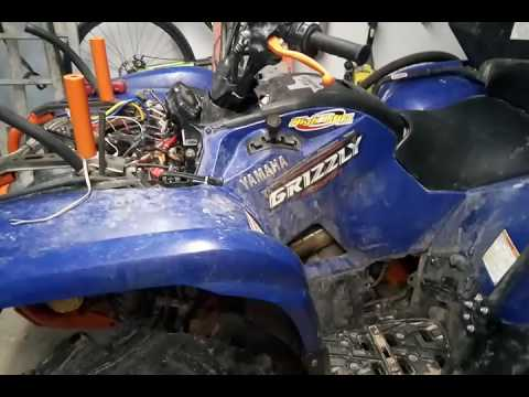 Grizzly 700 dash power fix - YouTube