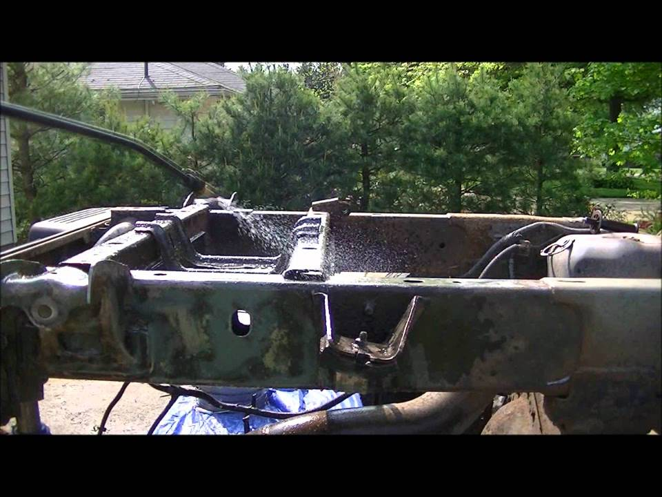 Chassis Saver ON THE FRAME!!!! - YouTube