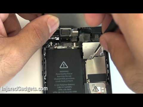 iPhone 5 Front Camera and Flex Cable Repair Replacement Guide