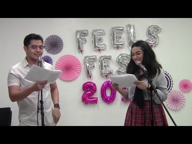 #romanceclass #FeelsFest2018 Live Reading of Like Nobody's Watching by Tara Frejas