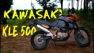 тест-драйв  Kawasaki KLE 500