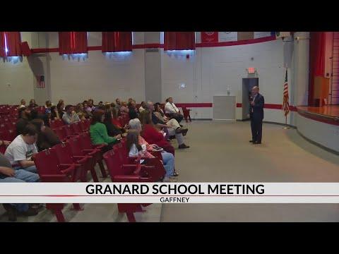 Granard middle school closure forum